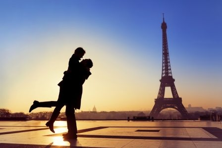 Best honeymoon destination Paris