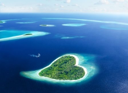 Best honeymoon destination Maldives