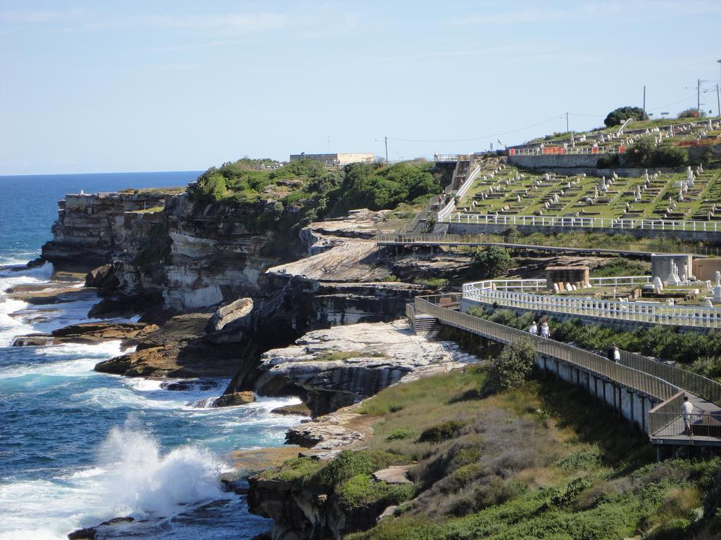 Bondi to Coogee, one of the best hikes in Australia for kids