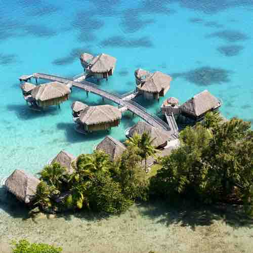 Tahiti Accommodation Over Water Bungalows: World's 20 Cheapest Overwater Bungalows