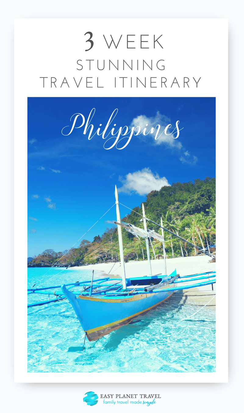 Stunning 3-Week Philippines Travel Itinerary, by Easy Planet Travel