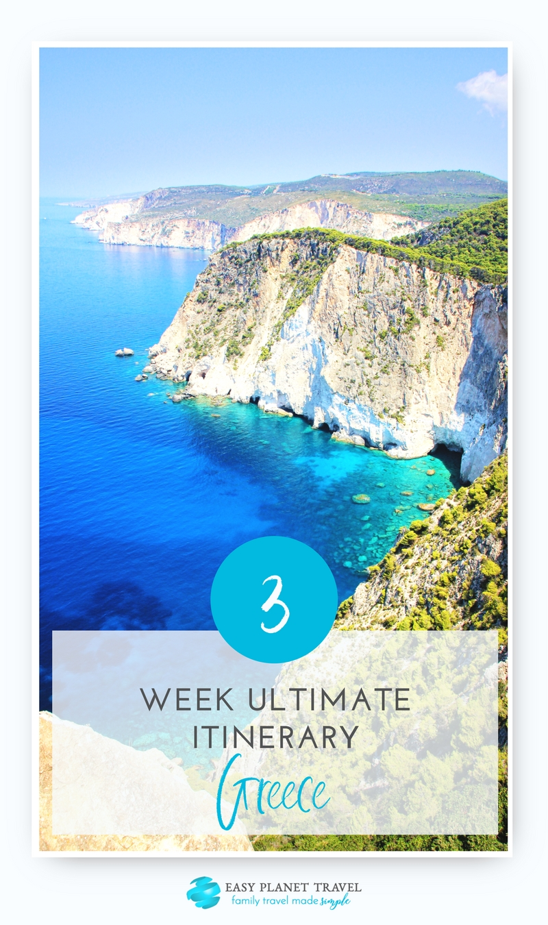 Ultimate 3-week Greece itinerary