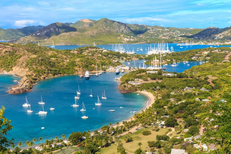 Antigua, one of the best Caribbean islands