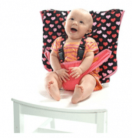 Best for baby travel: travel high chair