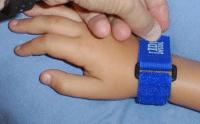 Best for baby travel: ID-Inside Velcro Child ID Bracelet