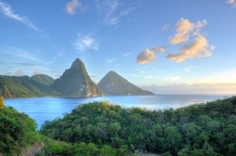 St. Lucia, among the best Caribbean Islands