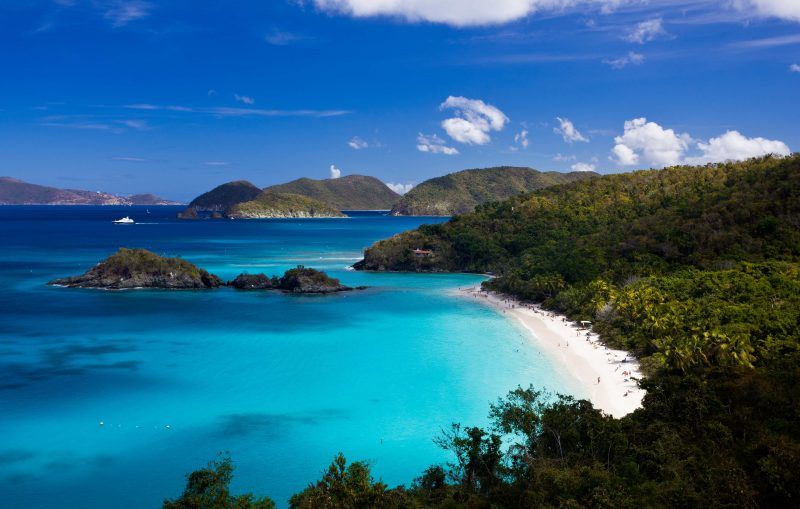 US Virgin Islands, among the best Caribbean Islands