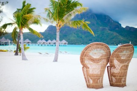 Best honeymoon destination Tahiti French Polynesia