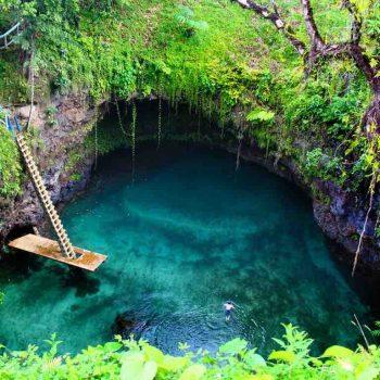 30 | Sua Ocean Trench, Samoa
