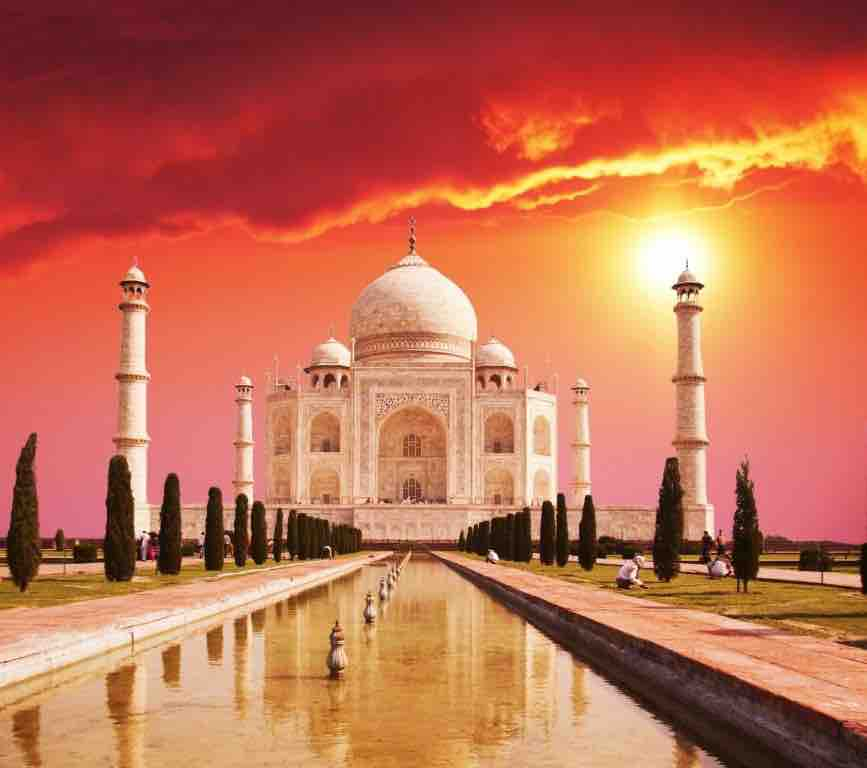 travel around the world india