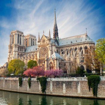 13   Notre Dame Cathedral, Paris, France