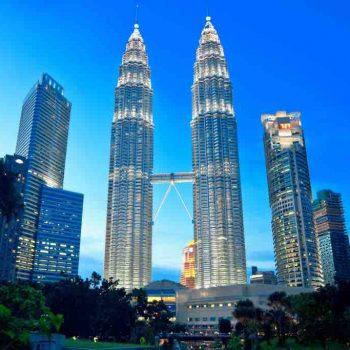 24   Petronas Twin Towers, Kuala Lumpur, Malaysia