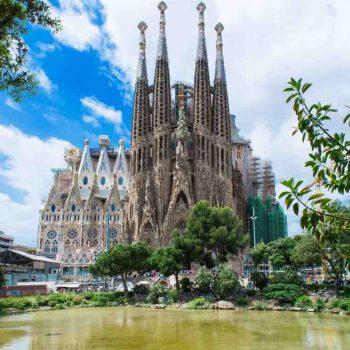 5   Basilica of the Sagrada Familia, Barcelona, Spain