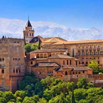 14   The Alhambra, Granada, Spain