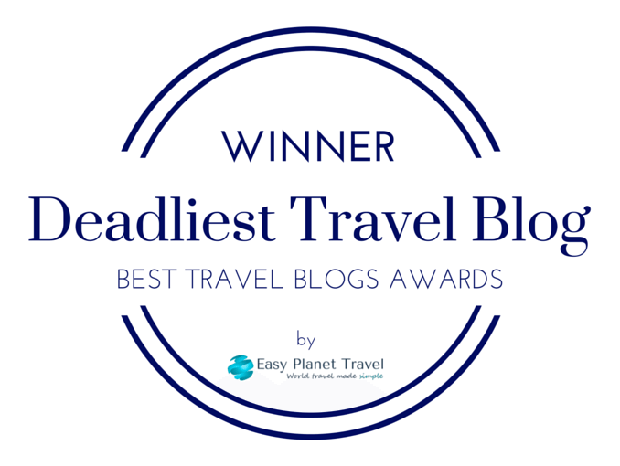 50 best travel blogs awards deadliest