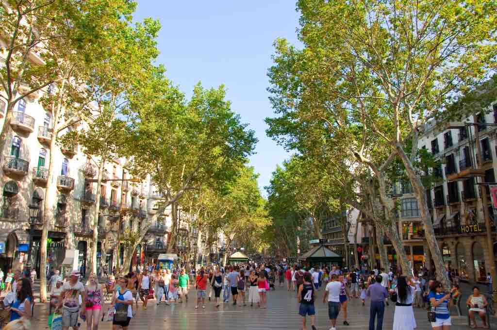 The Best things to do in Barcelona: La Rambla