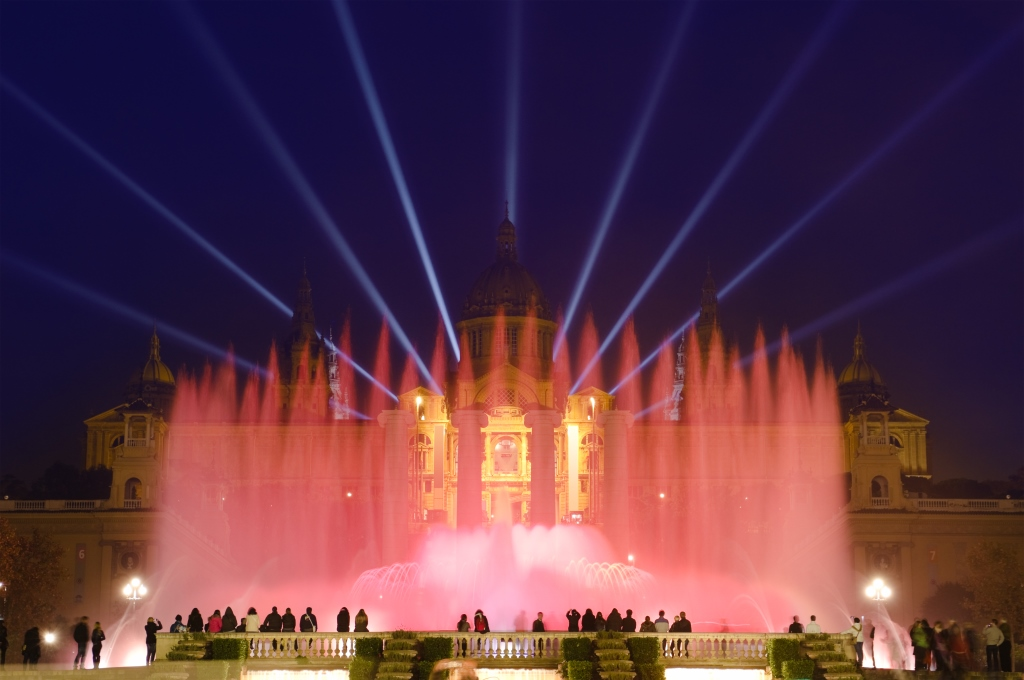 The Best things to do in Barcelona: Magic Fountain of Montjuïc