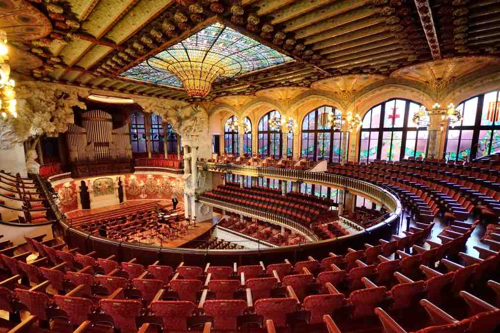 The Best things to do in Barcelona: Palace of Catalan Music