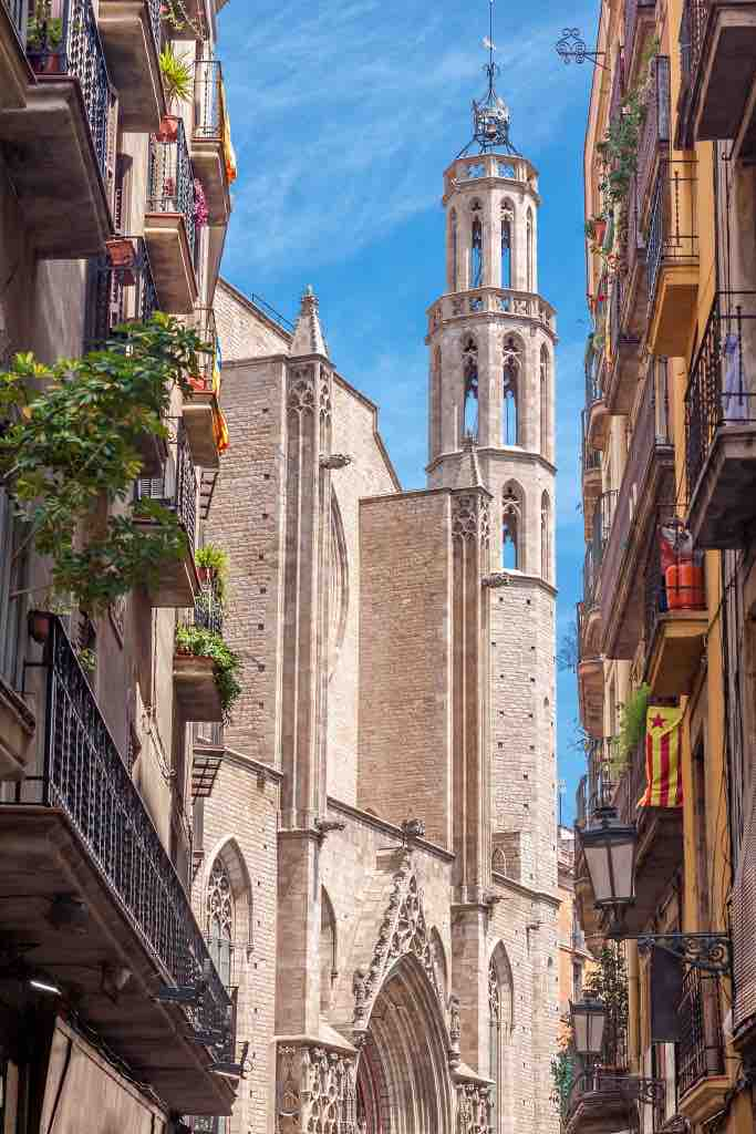 The Best things to do in Barcelona: Church of Santa Maria del Mar