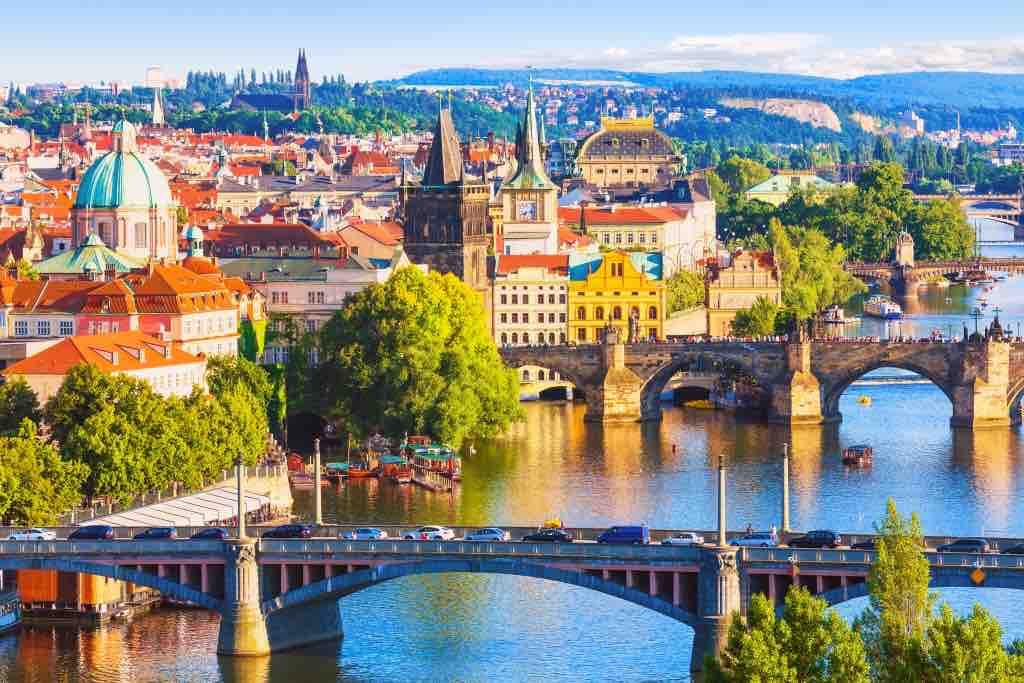 Czech Republic_Prague_Charles Bridge over Vltava River (family) - Copy