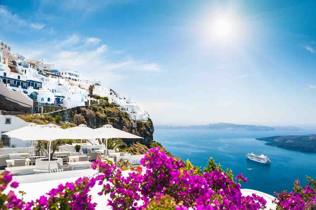 Best Greek Islands Santorini