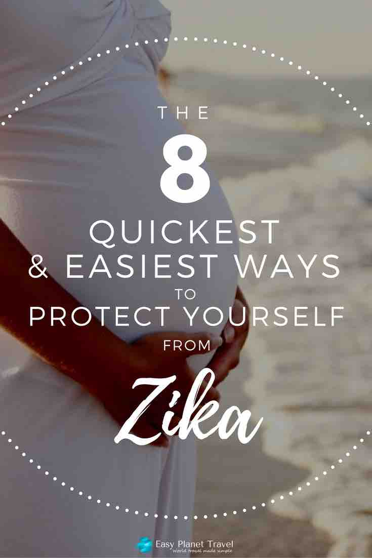 how to protect zika