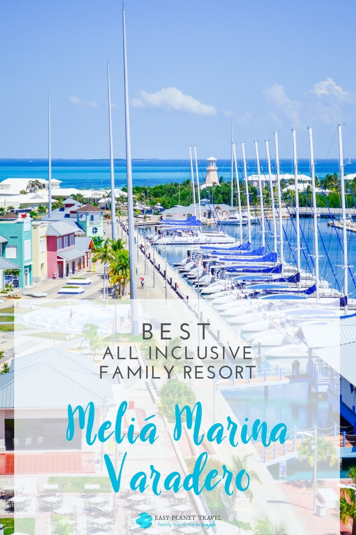 Best all inclusive family resort Meliá Marina Varadero