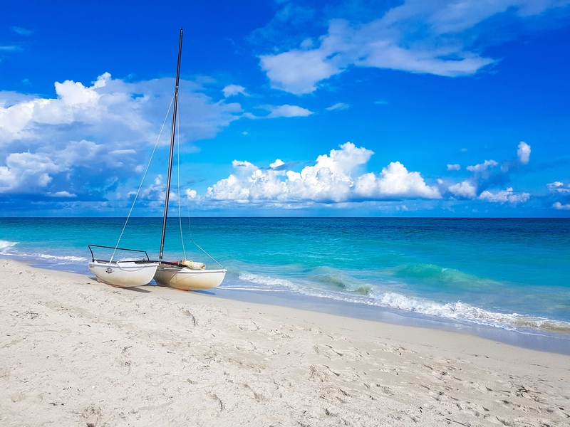 Varadero's beach is one of the most beautiful in the world