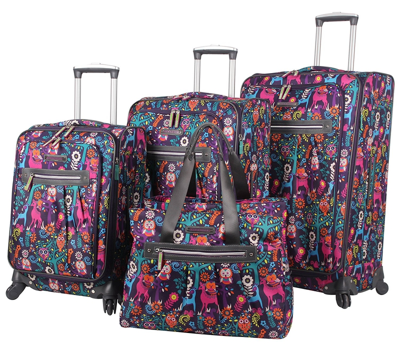 Best travel gift ideas: Lily Bloom Luggage Set
