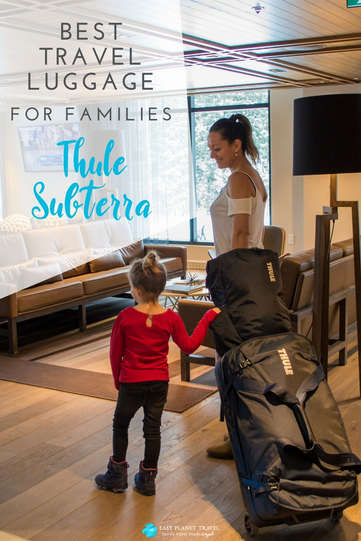 Thule Subterra: best travel luggage for families
