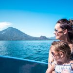 Boat tour on Lake Atitlan