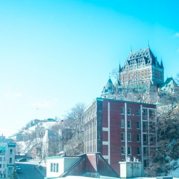 The Frontenac Castle, view from Hotel 71