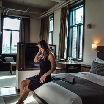 Perfect romantic getaway among all Quebec City hotels
