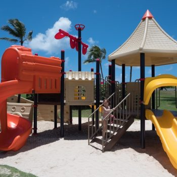 Playground fun at the best family resort for families in Punta Cana