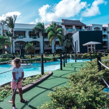 Golf at the best all inclusive resort for families in Punta Cana