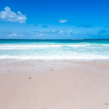 Gorgeous beach at the Hard Rock Hotel Punta Cana