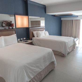 Spacious suite at the Hard Rock Hotel Punta Cana