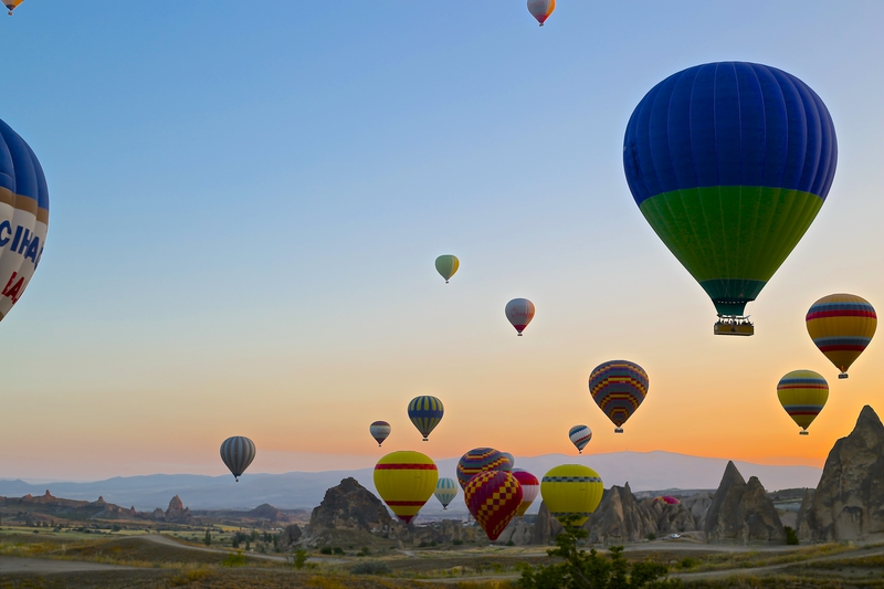 Kids' bucket list: 4. Hot air balloon ride in Cappadocia