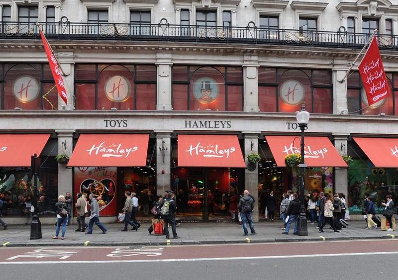 Kids' bucket list: Shop at Hamleys