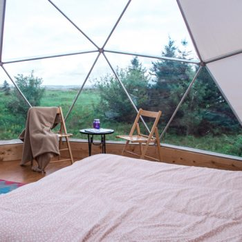 The Cabot Shores Domes and Yurts