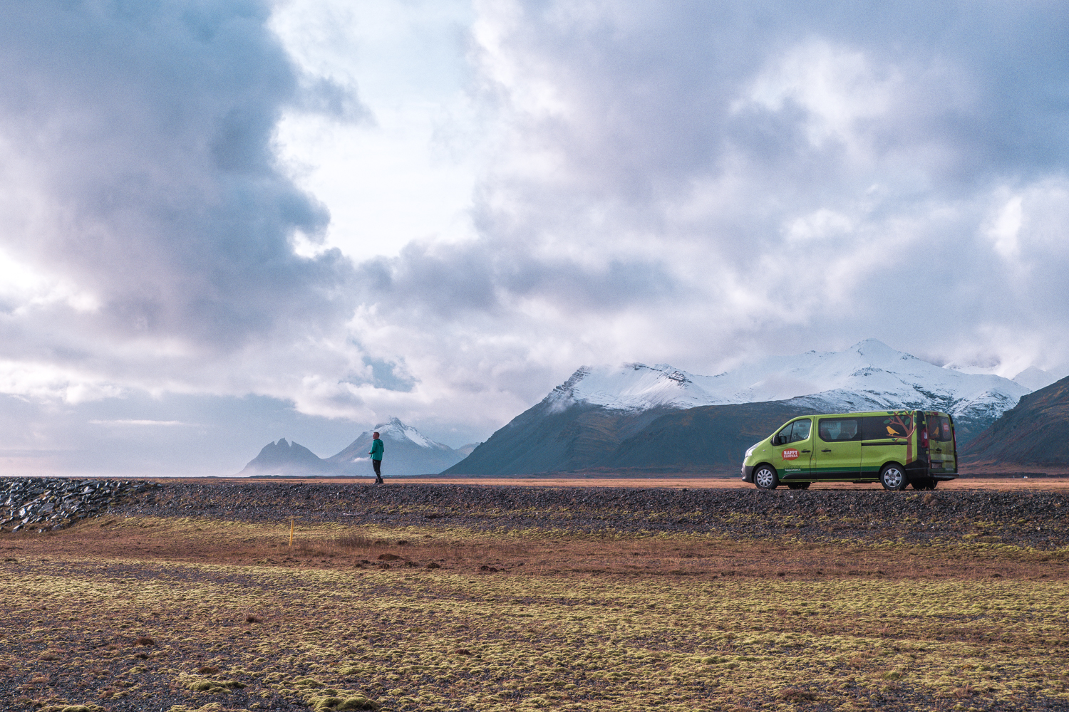 Vanlife in Iceland