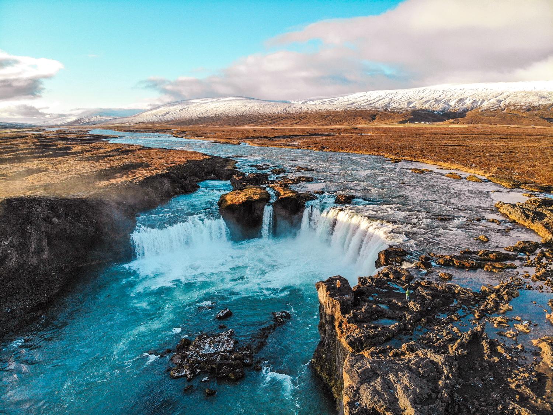 Goðafoss Watefall, Iceland