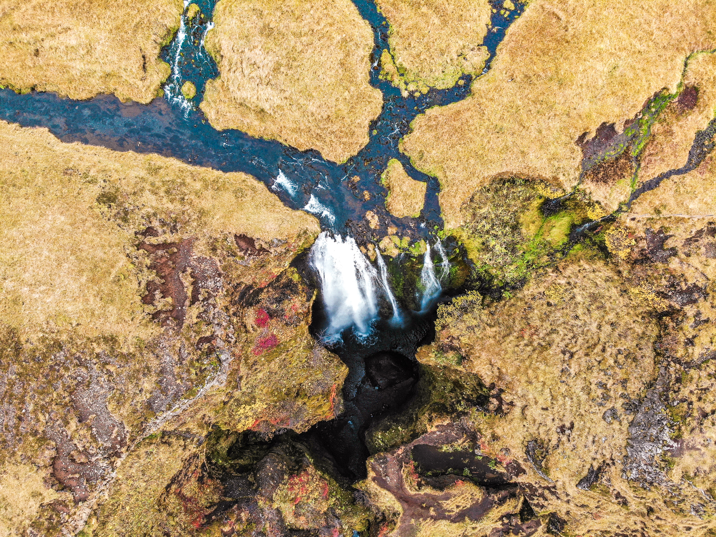 Gljúfrabúi Waterfall, Iceland