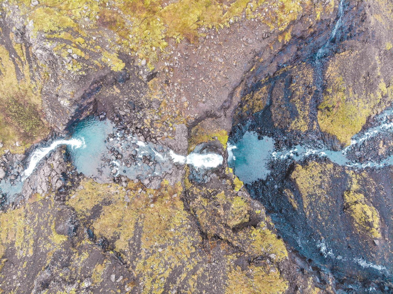 Flögufoss Waterfall, Iceland
