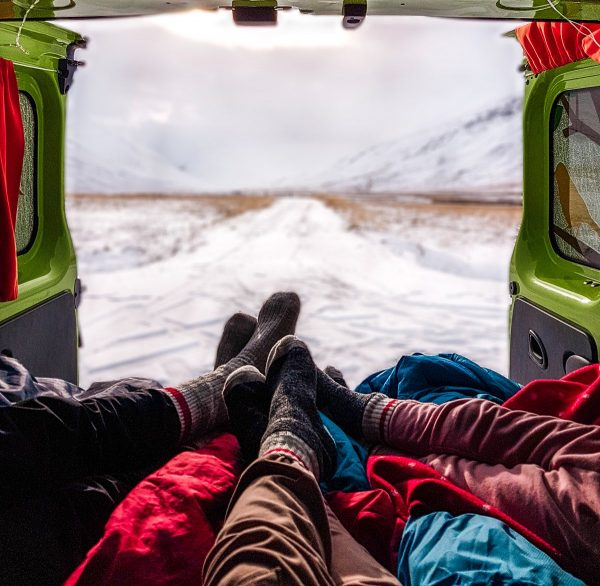 Iceland with kids #vanlife