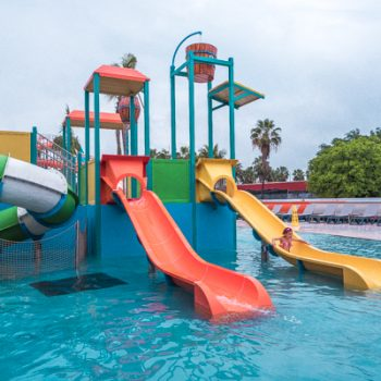 Water park at the Hard Rock Hotel Riviera Maya