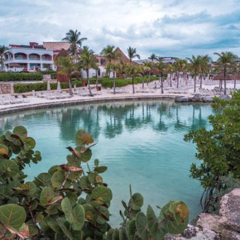 Crystal clear water at the Hard Rock Hotel Riviera Maya