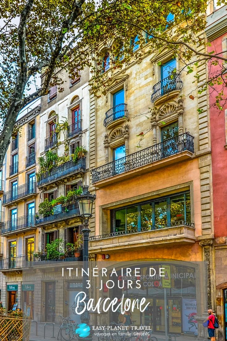 Visiter Barcelone en 3 jours : l'itinéraire ultime