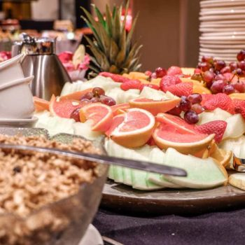 The Easter Brunch at the Hotel Chicoutimi