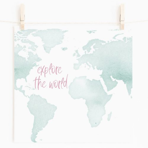 Explore the World Printable